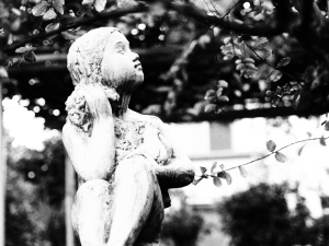 Parkette Statue of Child, Nerima