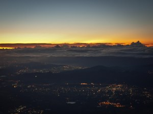 Pre-Dawn, from Fujisan