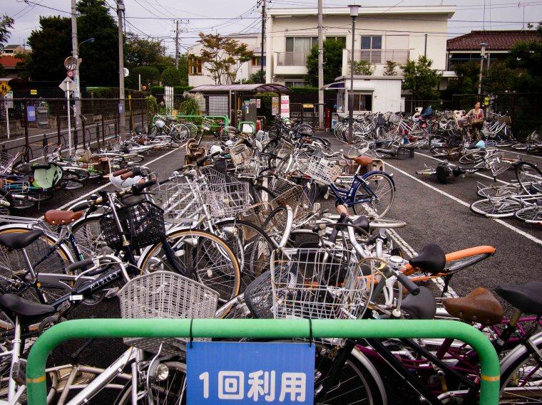 Bike Lot, Post-Typhoon Wipha