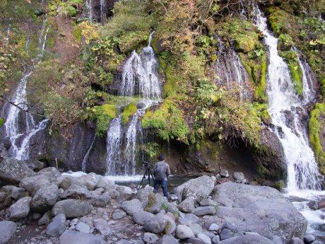 Doryu Falls, Yamanashi Highlands