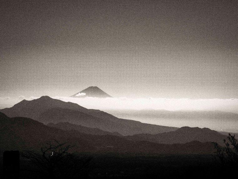 Fujisan, from Yamanashi Highlands