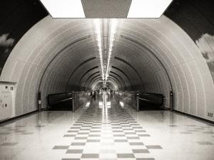 Narita Airport Terminal 1 Underground Passage