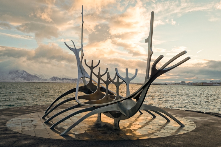 Jon Gunnar's Solfar Sun Voyager, Reykjavik