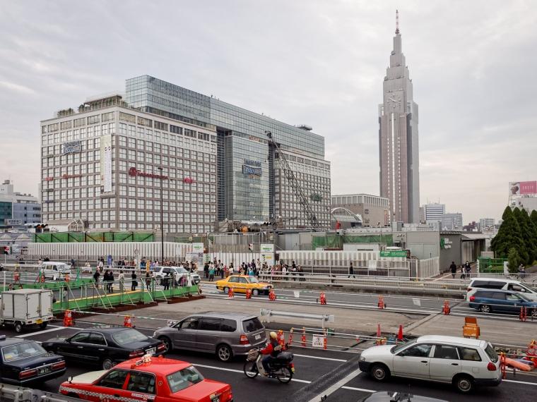 Shinjuku Station West Exit, circa 2009