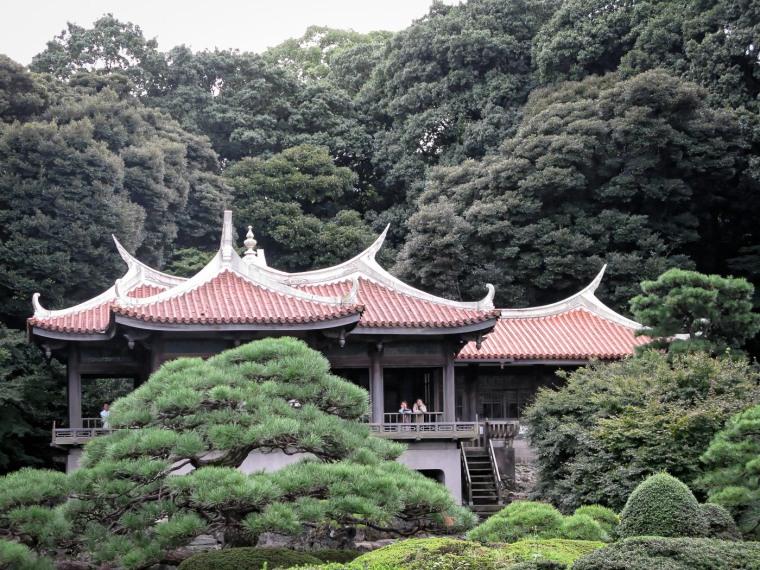 Pagoda, Shinjuku Gyoen