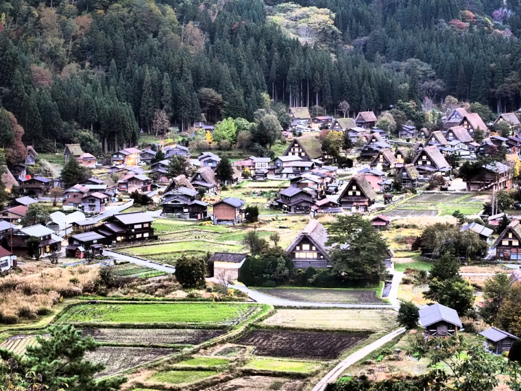 Shirakawago, Gifu Japan