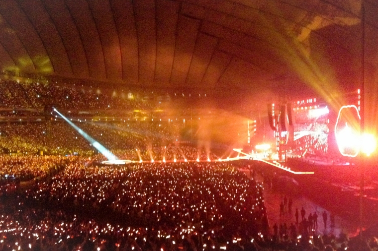 Coldplay, Tokyo Dome